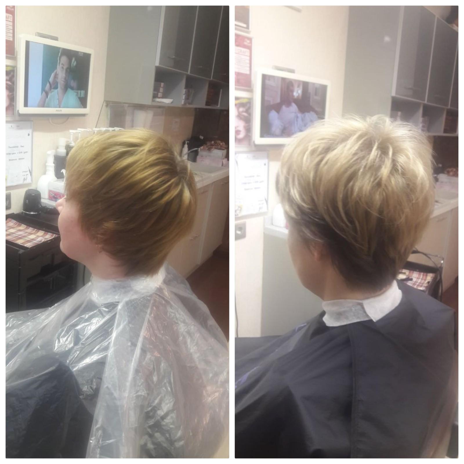 окрашивание волос, шатуш, амбре, мелирование